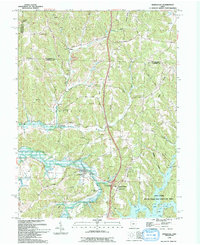 Download a high-resolution, GPS-compatible USGS topo map for Kimbolton, OH (1994 edition)