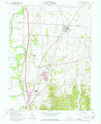 Download a high-resolution, GPS-compatible USGS topo map for Kingston, OH (1977 edition)