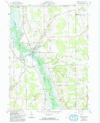 Download a high-resolution, GPS-compatible USGS topo map for Kinsman, OH (1993 edition)