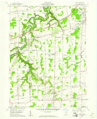 Download a high-resolution, GPS-compatible USGS topo map for Kipton, OH (1961 edition)