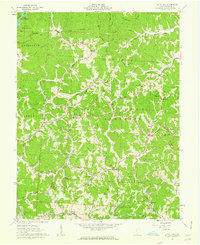 Download a high-resolution, GPS-compatible USGS topo map for Kitts Hill, OH (1963 edition)