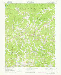 Download a high-resolution, GPS-compatible USGS topo map for Kitts Hill, OH (1976 edition)