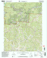 Download a high-resolution, GPS-compatible USGS topo map for Kitts Hill, OH (2006 edition)