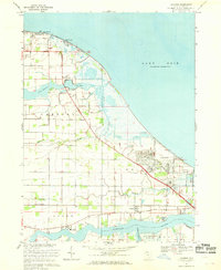 Download a high-resolution, GPS-compatible USGS topo map for Lacarne, OH (1969 edition)
