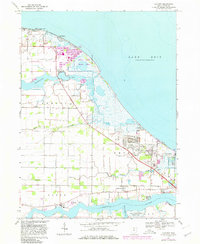 Download a high-resolution, GPS-compatible USGS topo map for Lacarne, OH (1980 edition)