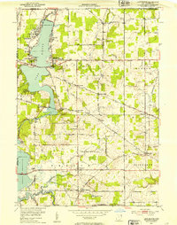 Download a high-resolution, GPS-compatible USGS topo map for Lake Milton, OH (1953 edition)