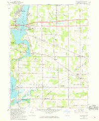 Download a high-resolution, GPS-compatible USGS topo map for Lake Milton, OH (1968 edition)