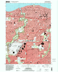 Download a high-resolution, GPS-compatible USGS topo map for Lakewood, OH (2000 edition)