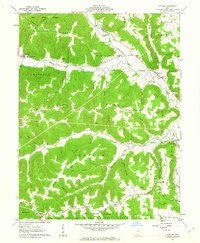 Download a high-resolution, GPS-compatible USGS topo map for Latham, OH (1963 edition)