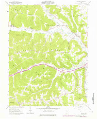 Download a high-resolution, GPS-compatible USGS topo map for Latham, OH (1976 edition)