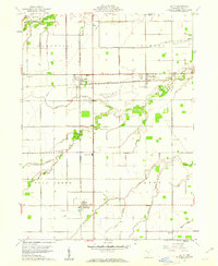 Download a high-resolution, GPS-compatible USGS topo map for Latty, OH (1961 edition)
