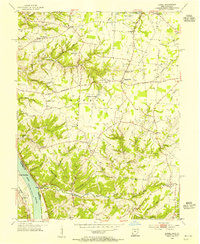 Download a high-resolution, GPS-compatible USGS topo map for Laurel, OH (1955 edition)