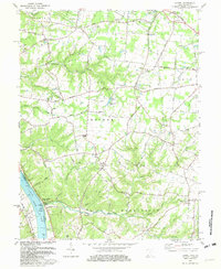 Download a high-resolution, GPS-compatible USGS topo map for Laurel, OH (1982 edition)