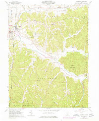 Download a high-resolution, GPS-compatible USGS topo map for Laurelville, OH (1977 edition)
