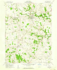 Download a high-resolution, GPS-compatible USGS topo map for Leesburg, OH (1962 edition)