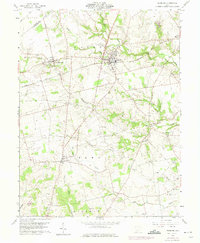 Download a high-resolution, GPS-compatible USGS topo map for Leesburg, OH (1975 edition)