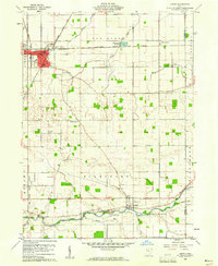 Download a high-resolution, GPS-compatible USGS topo map for Leipsic, OH (1961 edition)