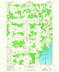 Download a high-resolution, GPS-compatible USGS topo map for Leon, OH (1968 edition)