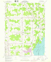 Download a high-resolution, GPS-compatible USGS topo map for Leon, OH (1979 edition)
