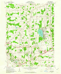 Download a high-resolution, GPS-compatible USGS topo map for Leroy, OH (1963 edition)