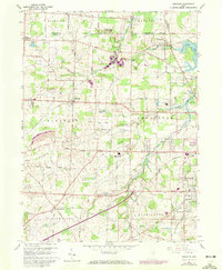 Download a high-resolution, GPS-compatible USGS topo map for Limaville, OH (1972 edition)