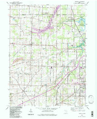 Download a high-resolution, GPS-compatible USGS topo map for Limaville, OH (1997 edition)