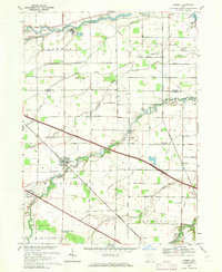 Download a high-resolution, GPS-compatible USGS topo map for Lindsey, OH (1971 edition)