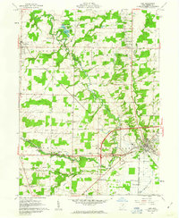 Download a high-resolution, GPS-compatible USGS topo map for Lodi, OH (1963 edition)