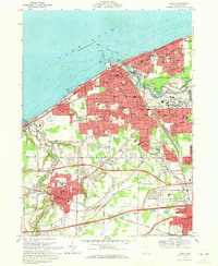 Download a high-resolution, GPS-compatible USGS topo map for Lorain, OH (1972 edition)