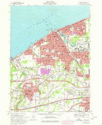 Download a high-resolution, GPS-compatible USGS topo map for Lorain, OH (1980 edition)