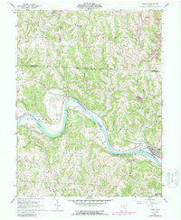 Download a high-resolution, GPS-compatible USGS topo map for Lowell, OH (1988 edition)