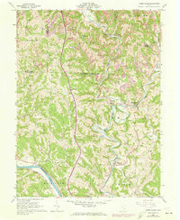 Download a high-resolution, GPS-compatible USGS topo map for Lower Salem, OH (1973 edition)