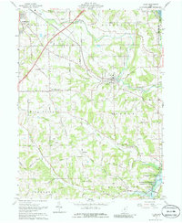 Download a high-resolution, GPS-compatible USGS topo map for Lucas, OH (1986 edition)