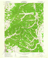 Download a high-resolution, GPS-compatible USGS topo map for Lucasville, OH (1962 edition)