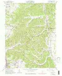 Download a high-resolution, GPS-compatible USGS topo map for Lucasville, OH (1977 edition)