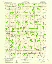 Download a high-resolution, GPS-compatible USGS topo map for Lykens, OH (1961 edition)