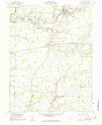 Download a high-resolution, GPS-compatible USGS topo map for Lynchburg, OH (1962 edition)