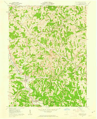 Download a high-resolution, GPS-compatible USGS topo map for Macksburg, OH (1963 edition)