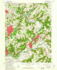 Download a high-resolution, GPS-compatible USGS topo map for Madeira, OH (1963 edition)
