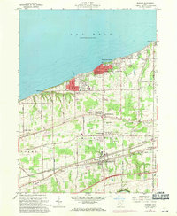 Download a high-resolution, GPS-compatible USGS topo map for Madison, OH (1971 edition)