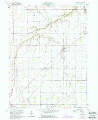Download a high-resolution, GPS-compatible USGS topo map for Malinta, OH (1988 edition)