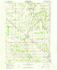 Download a high-resolution, GPS-compatible USGS topo map for Mallet Creek, OH (1973 edition)