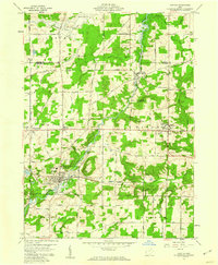Download a high-resolution, GPS-compatible USGS topo map for Mantua, OH (1960 edition)