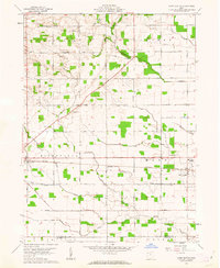 Download a high-resolution, GPS-compatible USGS topo map for Mark Center, OH (1962 edition)