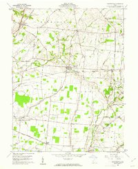 Download a high-resolution, GPS-compatible USGS topo map for Martinsville, OH (1962 edition)
