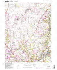 Download a high-resolution, GPS-compatible USGS topo map for Mason, OH (1982 edition)