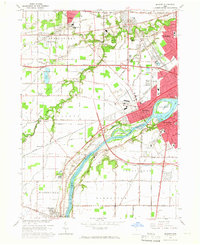 Download a high-resolution, GPS-compatible USGS topo map for Maumee, OH (1965 edition)