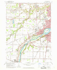 Download a high-resolution, GPS-compatible USGS topo map for Maumee, OH (1969 edition)
