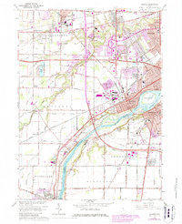 Download a high-resolution, GPS-compatible USGS topo map for Maumee, OH (1980 edition)