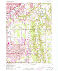 Download a high-resolution, GPS-compatible USGS topo map for Mayfield Heights, OH (1980 edition)